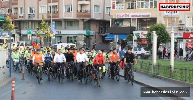 Makam Aracı Yerine Bisiklet
