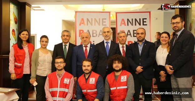 Kızılay'ın kan bağışı kampanyasına destek