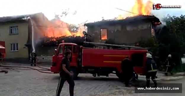 Beykoz'da Yangın Can Aldı