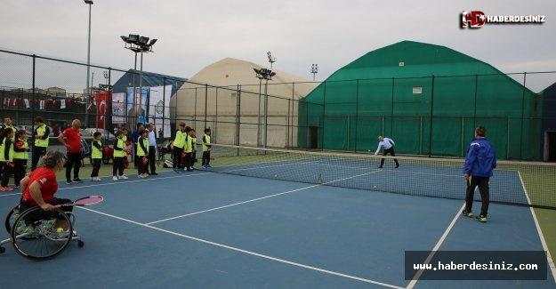 Engelleri Kaldır Tenis Şöleni 3 Aralık'ta