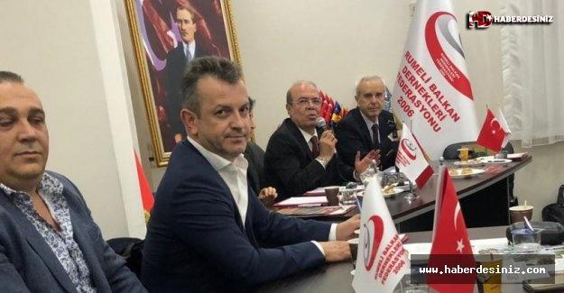 Rumeli Balkan Dernekleri Federasyonu'ndan Hakan Ataklı'ya tam destek