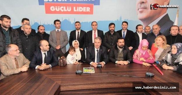 """AK Parti Sarıyer'de """"Salih Bayraktar"""" dedi..!"""