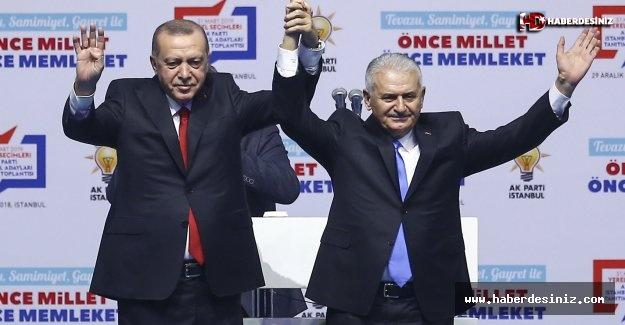 Erdoğan İstanbul Adaylarını Sahaya Sürdü