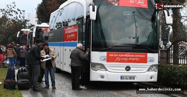 Esenyurt'tan  Suriye'ye Dönüşler Devam Ediyor.