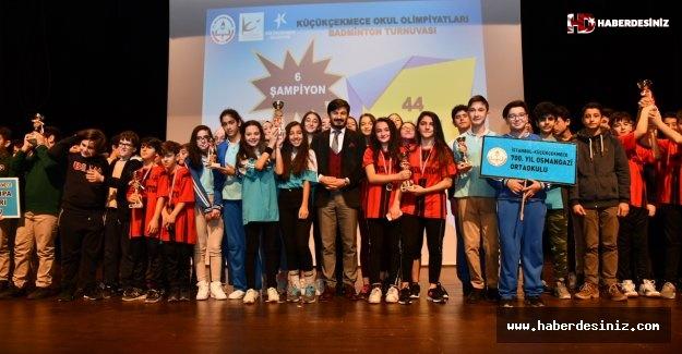 Okul Olimpiyatları Ödülleri Verildi