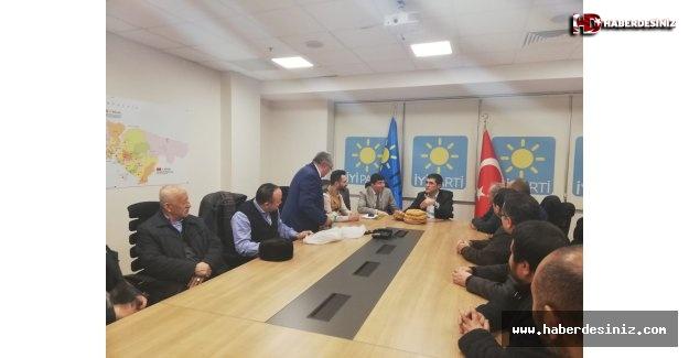 Uygur Türkleri'nden İyi Parti'ye Teşekkür Ziyareti
