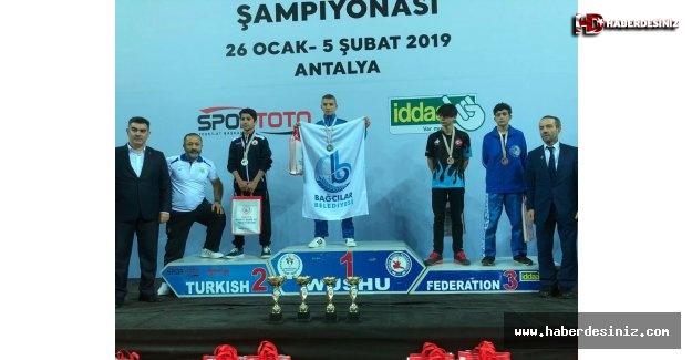 """""""Türkiye Wushu Kung Fu Şampiyonası'ndan Bağcılar Belediyesi şampiyon olarak döndü."""