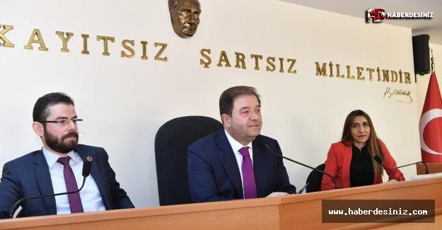 Başkan Ali Kılıç meclis üyelerine teşekkür etti