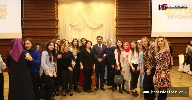 Başkan Karadeniz'den Kadınlara Özel Kahvaltı