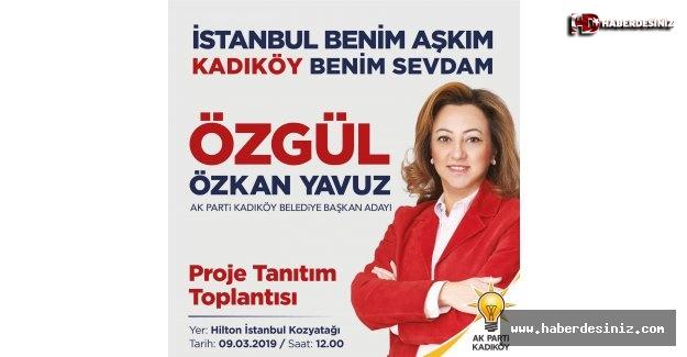 Özgül Özkan Yavuz, projelerini açıklayacak