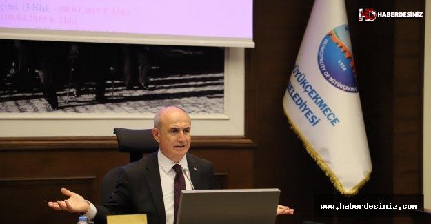 Büyükçekmece Belediyesi'nin 2018 yılı Faaliyet Raporu onaylandı