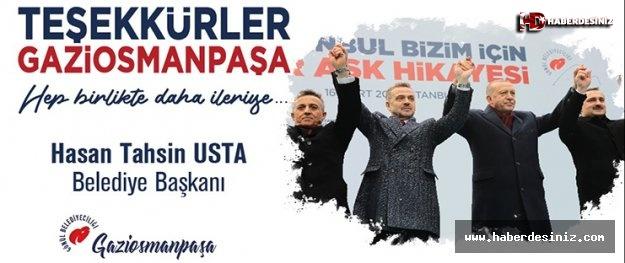 "H. Tahsin Usta; ""Gaziosmanpaşa Kazandı"""