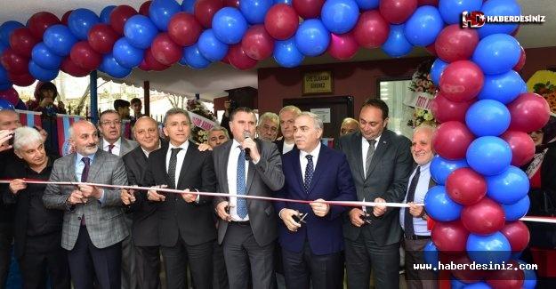 Kadırga Spor Kulübü'nün Yenilenen Lokal Binası Törenle Açıldı