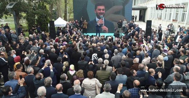 Kağıthane Belediye Başkanı Mevlüt Öztekin göreve başladı