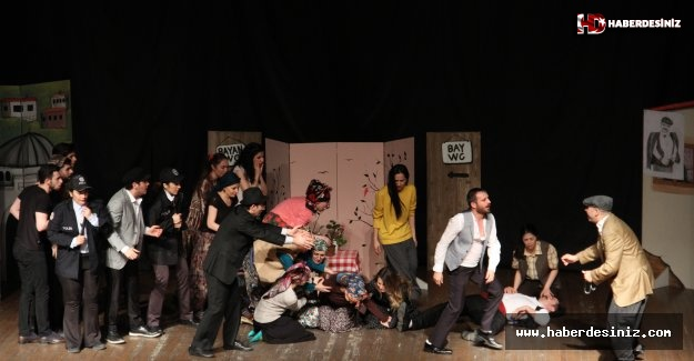 'Keşanlı Ali Destanı' Tiyatro Oyunu Kartal'da Sahnelendi