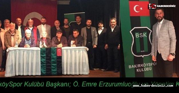 Bakırköy Spor Kulübü, yeni yönetimi belirledi!