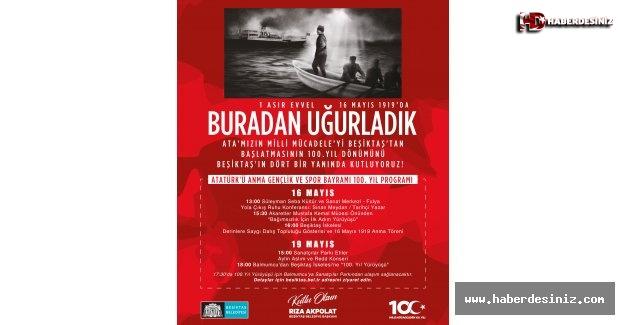 Beşiktaş'tan Başlayan Bağımsızlık Ateşinin 100. Yılı Kutlanıyor!
