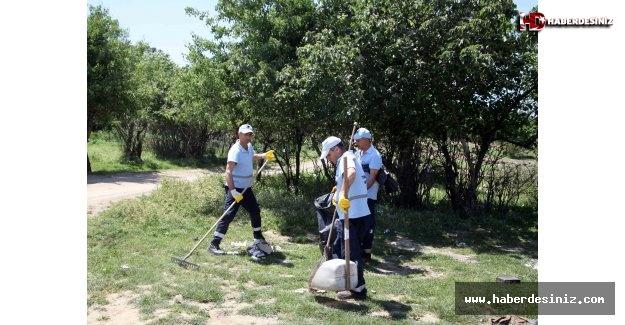 Kartal Belediyesi'nden Aydos Ormanı'nda Temizlik Çalışması