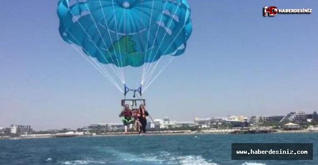 Antalya'da feci ölüm! Denize çakıldı...