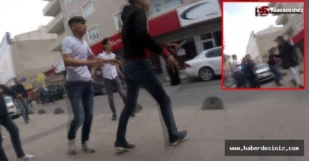 İstanbul'un Göbeğinde Adeta Bir Meydan Savaşı