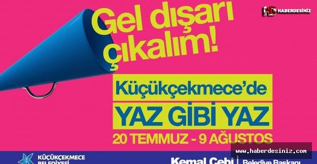 MAHALLE SİNEMASI KEYFİ KÜÇÜKÇEKMECE'DE BAŞLIYOR!