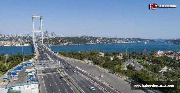 Bayram Arefesi İstanbul'da Trafik Yoğunluğu Yüzde 8'e Düştü