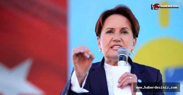 Akşener: Partimizin oyu 11,1, bizden bir miktar oy Davutoğlu'na gidiyor