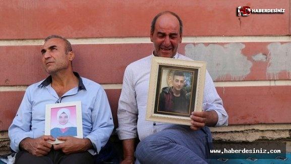 Diyarbakır'daki evlat nöbeti 17. gününde