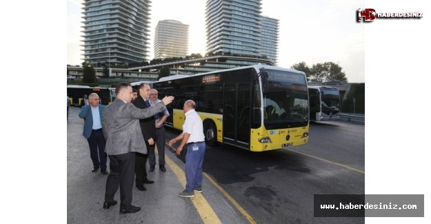 İETT yöneticileri metrobüse bindi