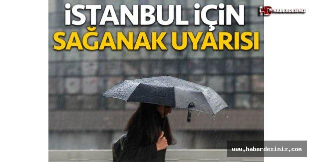 İstanbul için yağmur uyarısı! Gün verdiler...