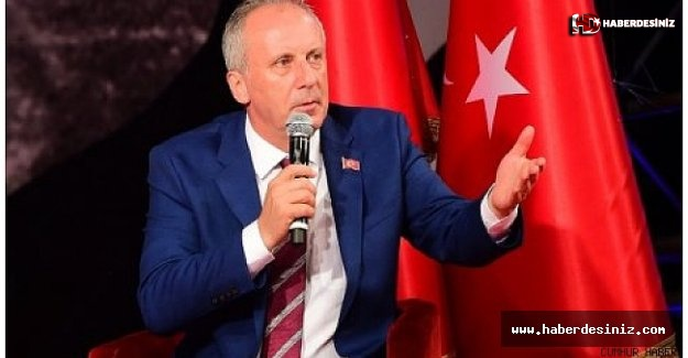 Muharrem İnce'den Süleyman Soylu'ya 'pejmürde' tepkisi