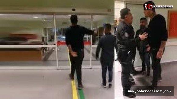 Polislerle tartışan iki zorba gözaltında!