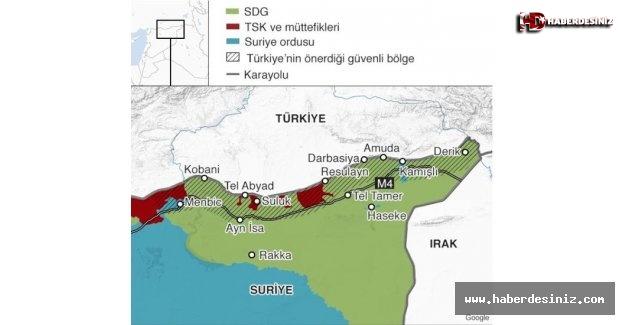 Barış Pınarı Harekatı ile tüm dengeler değişti! İşte Türkiye'nin kazanımları.