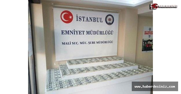 İstanbul'da yüz binlerce dolar sahte para ele geçirildi