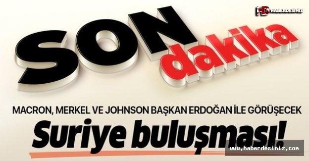 Macron'dan 'Suriye buluşması' açıklaması: Başkan Erdoğan ile görüşeceğiz.