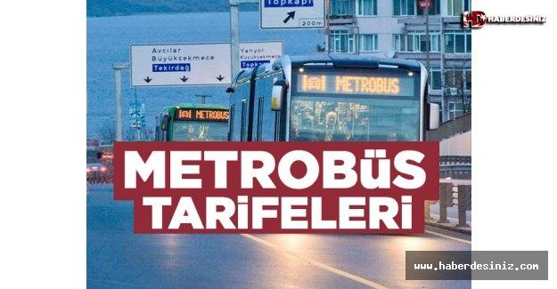 Metrobüs ücretleri ve tarifesi | 2019-2020 fiyatları