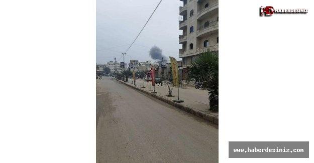 Afrin'de bomba yüklü araçla terör saldırısı.