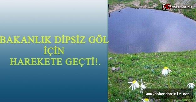 Bakanlık Dipsiz Göl için harekete geçti! Resmi Gazete'de define detayı....