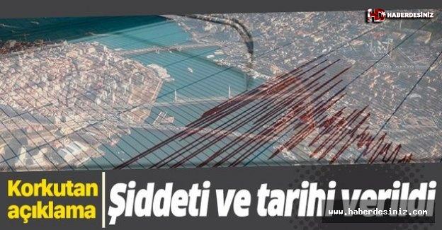 Büyük depremin tarihi ve şiddeti....