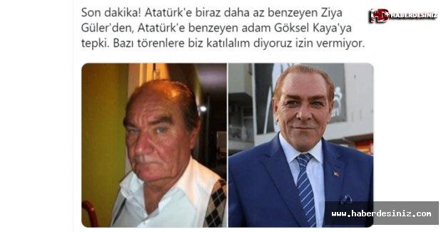 """Çakma Atatürklerin """"ekmek"""" kavgası!."""