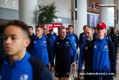 İzlanda Milli Takımı İstanbul'a geldi!.