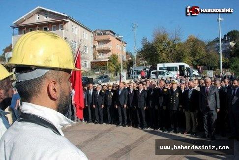 Zonguldak'ta kömürün bulunuşunun 190. yıl dönümü kutlandı.