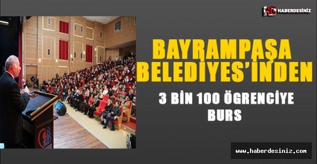 BAYRAMPAŞA BELEDİYESİ'NDEN 3 BİN 100 ÖĞRENCİYE BURS