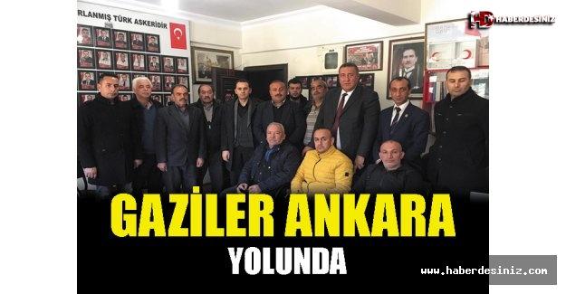 Gaziler Ankara Yolunda