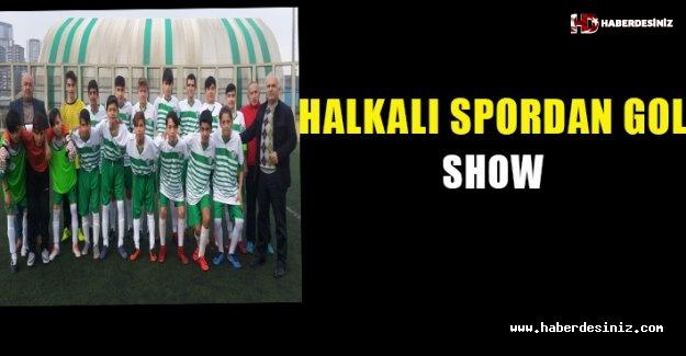 Halkalı spor -15'lerinden gol şhow