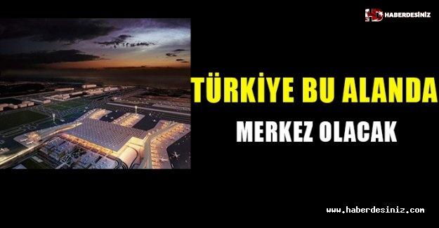 """""""Türkiye bu alanda merkez olacak""""."""