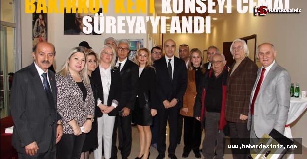 Bakırköy Kent Konseyi Cemal Süreya'yı andı