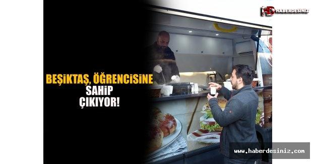 Beşiktaş, Öğrencisine Sahip Çıkıyor!