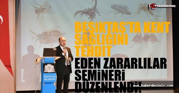 Beşiktaş'ta Kent Sağlığını Tehdit Eden Zararlılar Semineri Düzenlendi!