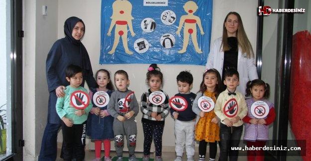 Esenyurt Belediyesi'nden Kreşli Miniklere Mahremiyet Eğitimi
